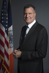 Mayor Bill de Blasio photographed during a portrait sitting on Tuesday, January 14, 2014. Credit: Rob Bennett for the Office of Mayor Bill de Blasio